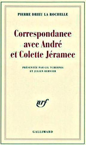 site me fr correspondanceentre Drieu et Jeramec
