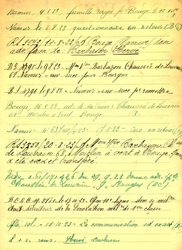 belg war register page 2 Barbason
