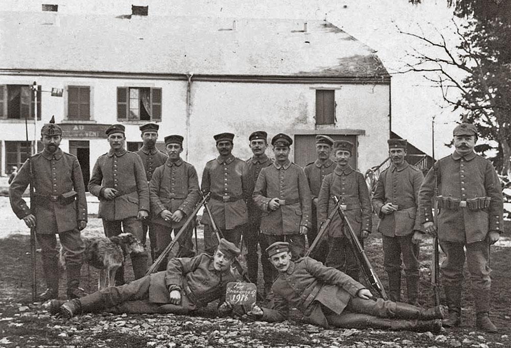 bouillon 1916 au moulin a vent 18 landsturm
