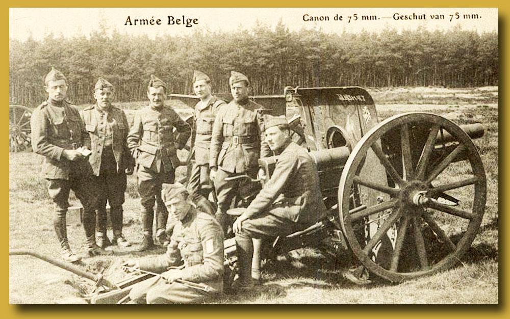 canon de site me be 75 mm de l'armée belge