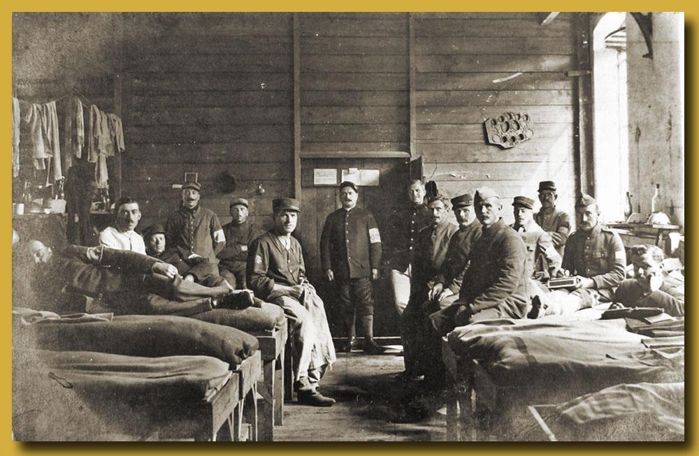 site me de camp soltau chambrée de prisonniers