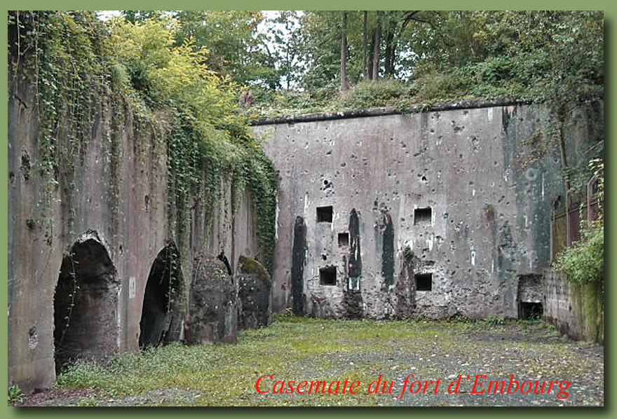 site to be embourg casemate