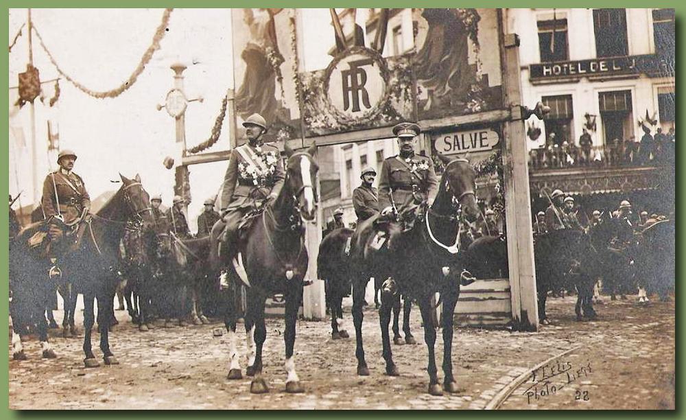 site to be liège festivités légion honneur 1919