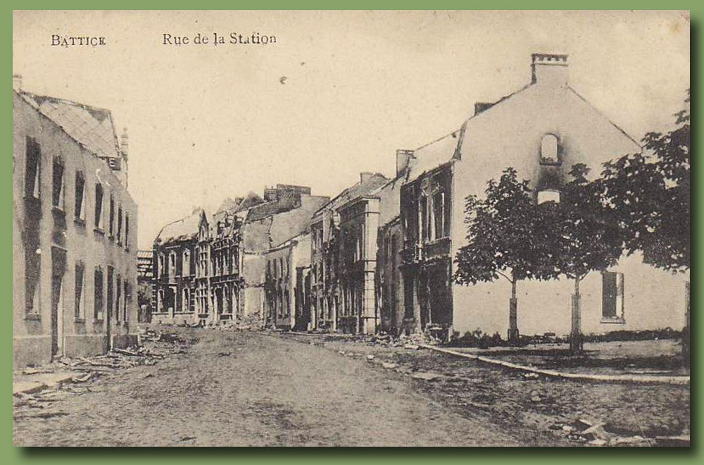 site to be lie battice rue station