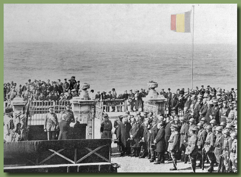 site to fr réception du général Leman à Ste Adresse