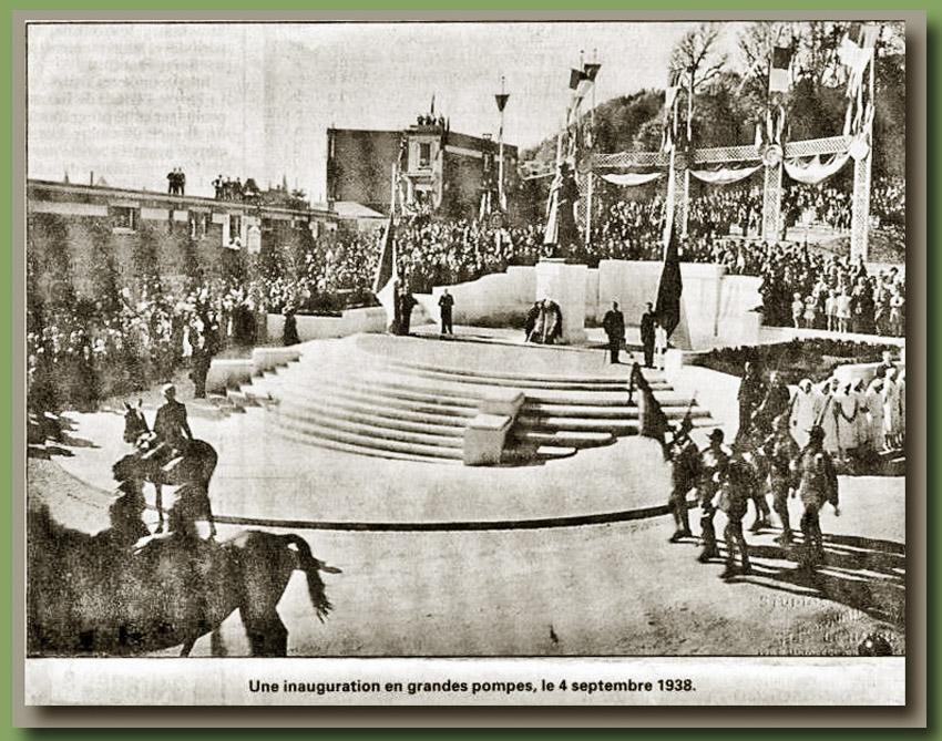 site to fr ste adresse 1938 inaug monum albert