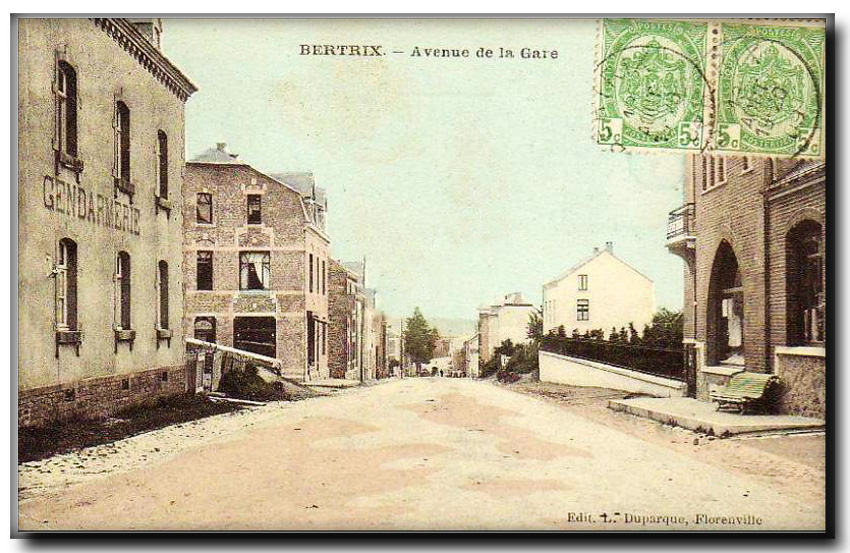site so be bertrix avenue gare gd color