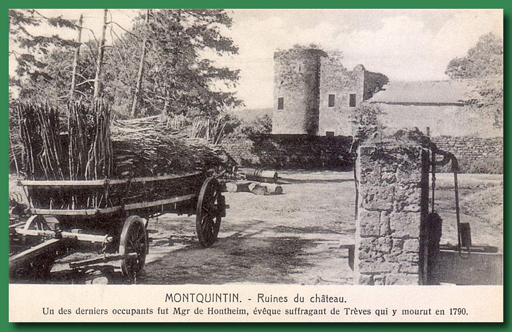 site to be montquintin
