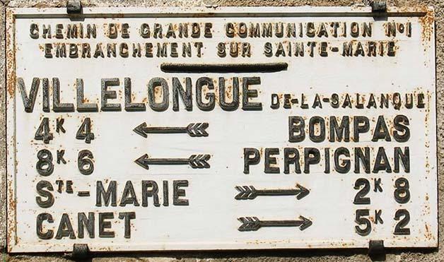 site to plaque villelongue de la salanque