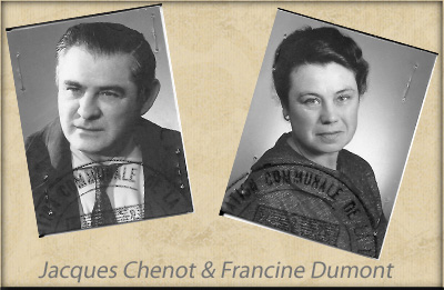 époux chenot jacques et francine dumont