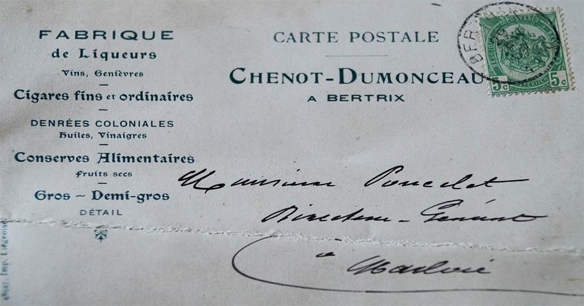 LIQUEURS CHENOT DUMONCEAU