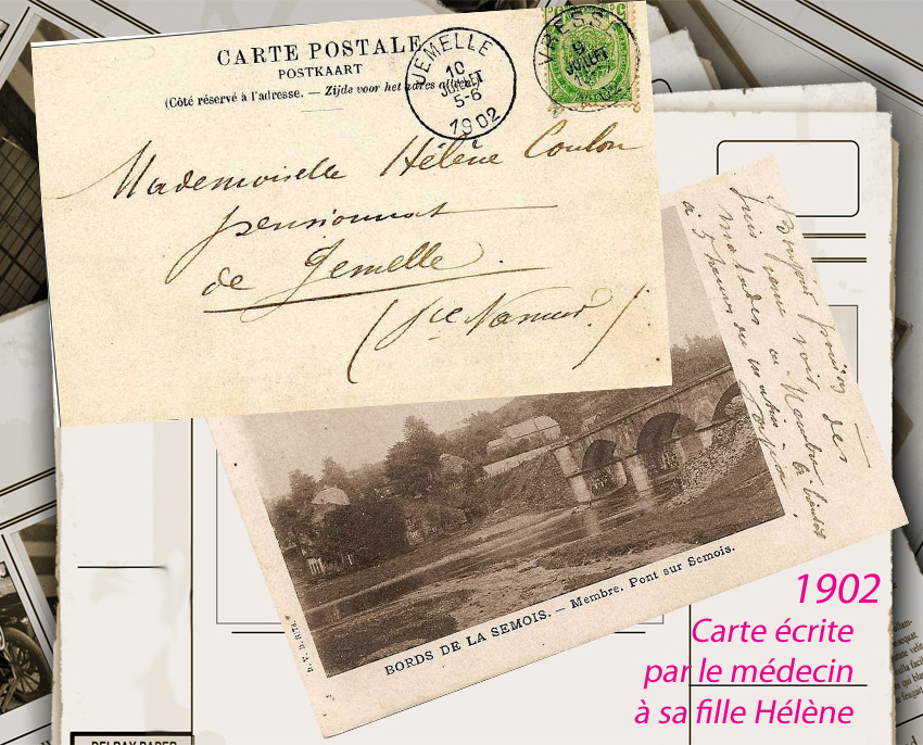 lettre du médecin coulon joseph à sa fille hélène