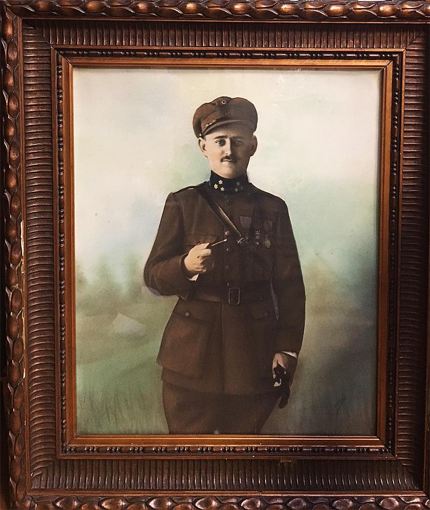 portrait de Lucien Chenot appartenant à Jacqueline