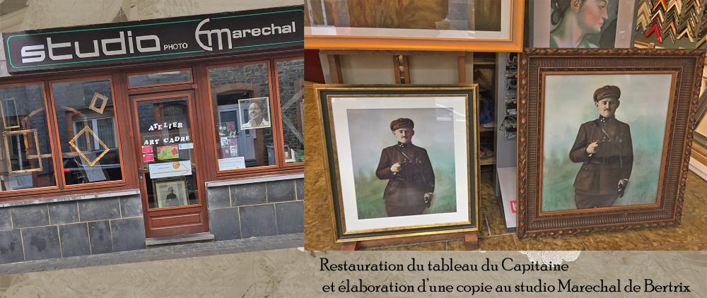 restauration du tableau marechal btx