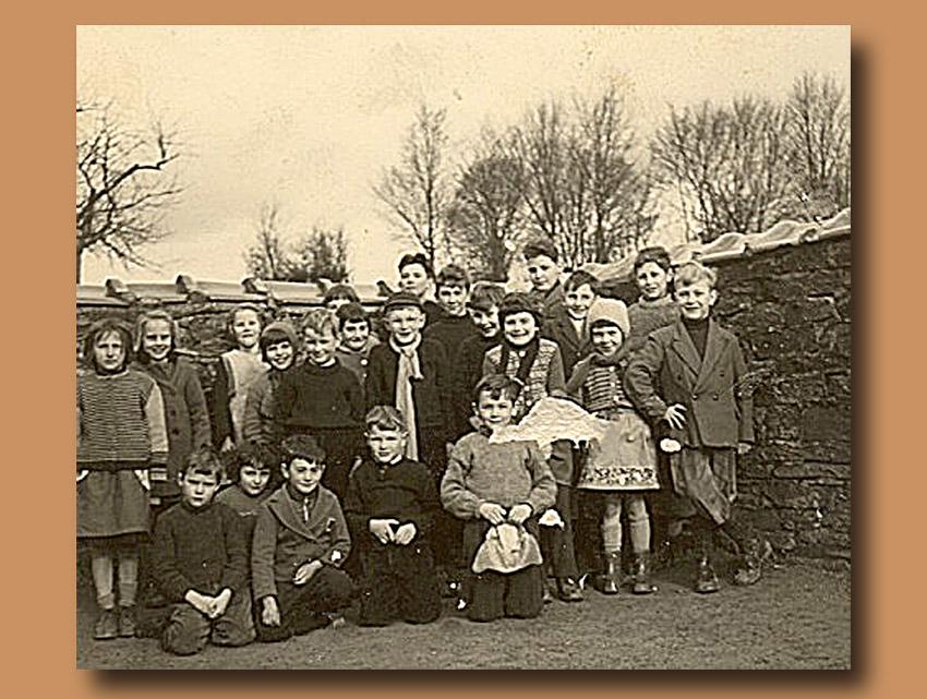 site to be Auby classe école primaire janvier 1960