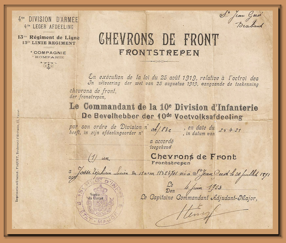 site to be bra chevron de front 1923