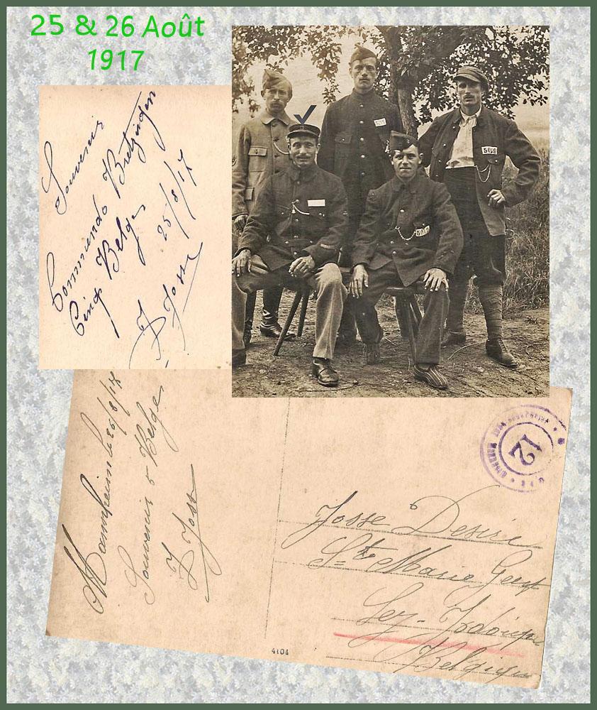 site to de Bretzingen 25 &26 aout1917