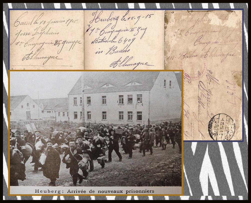 site to de arrivée prisonniers janv 1915
