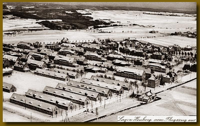 site to de camp de Heuberg en hiver 1917