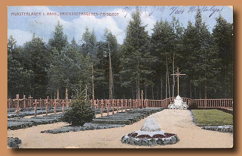 site to de camp munster cimetiere croix de bois