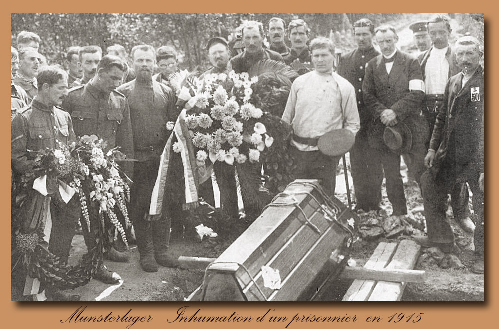 site to de munster enterrement prisonnier 1915
