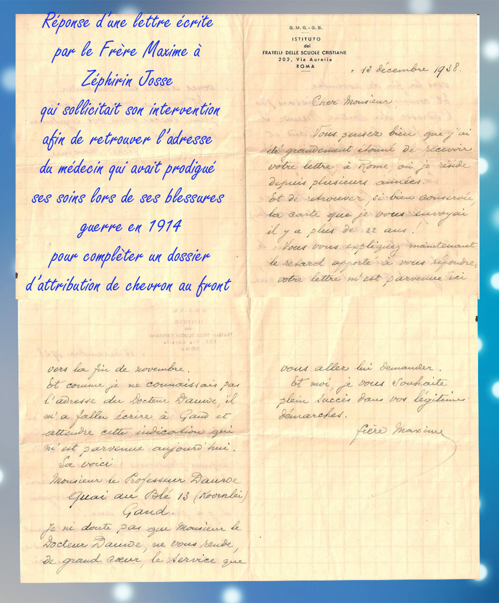 site to it lettre frermaxime 1938