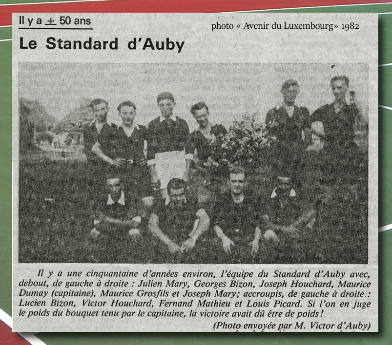 site to be 1930 le Standart d'AUBY