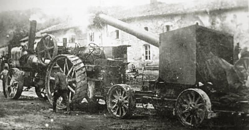 site to de tracteur et canon