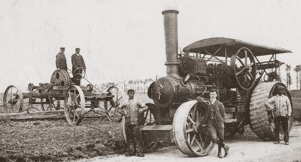 site to fr tracteur vapeur agricole