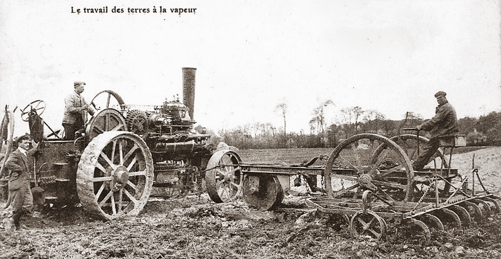 site to fr tracteur vapeur travaux agricoles