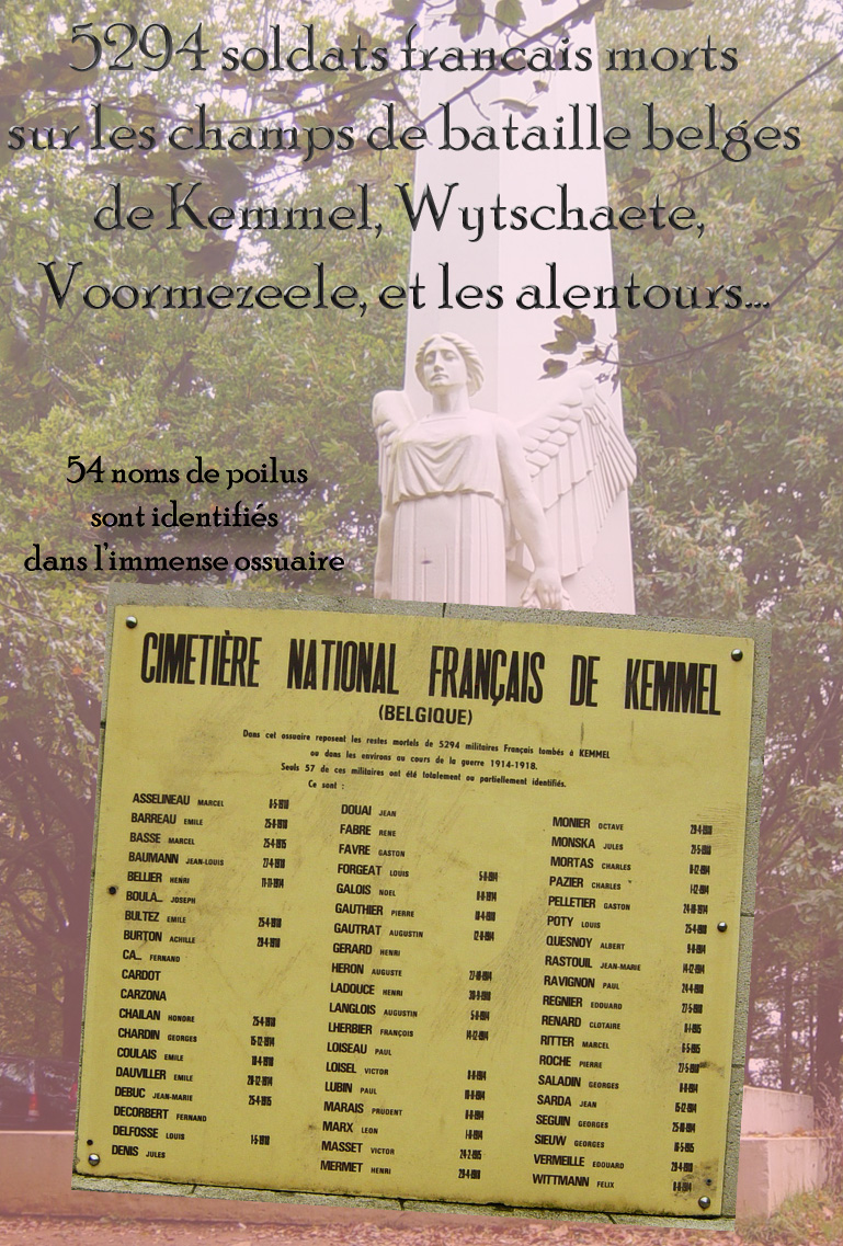 5294 sdts francais ossuaire kemmel