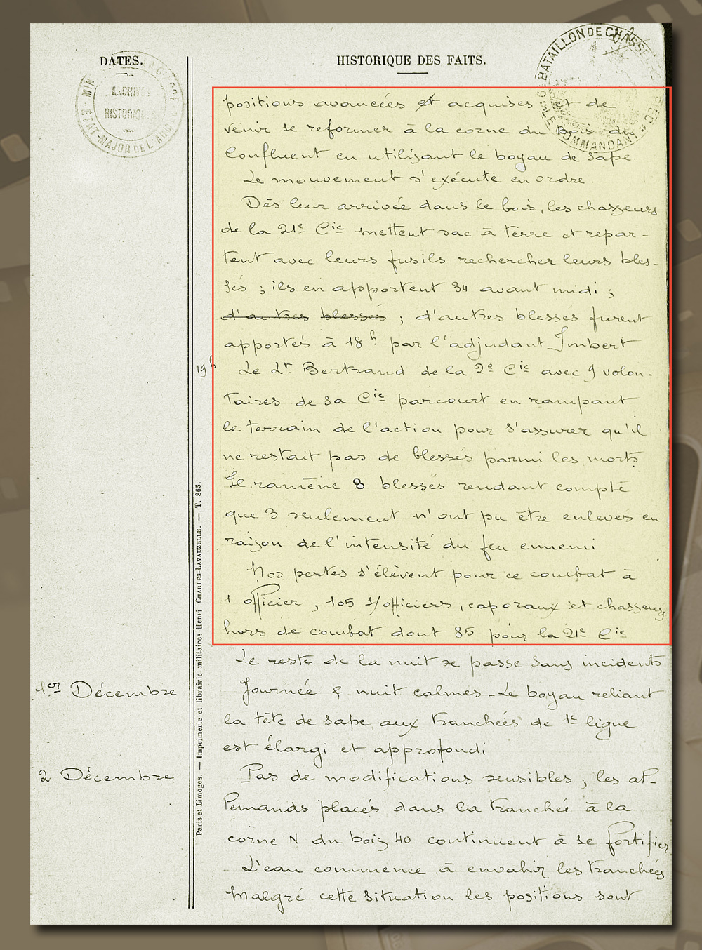 historique 6è bca ypres 30 nov 1914 pag 3