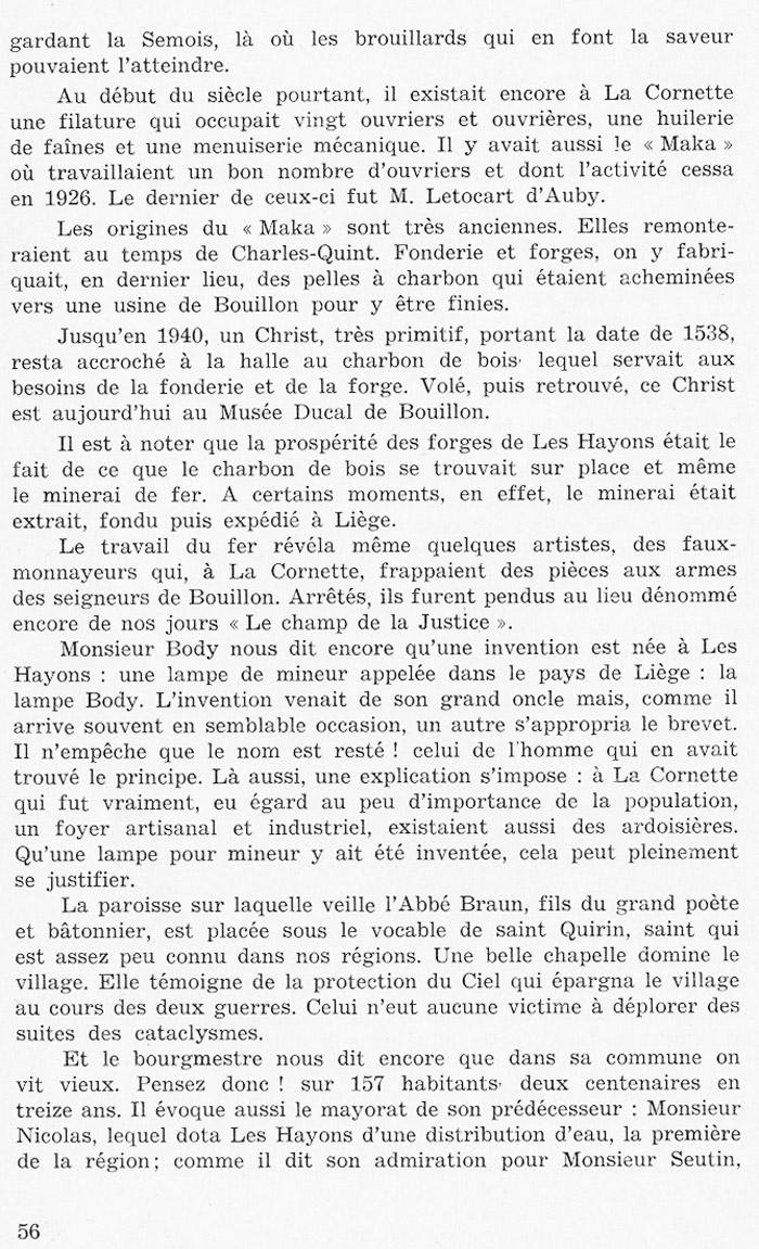 site to Bonsoir Les Hayons de Marcel LEROY page 56