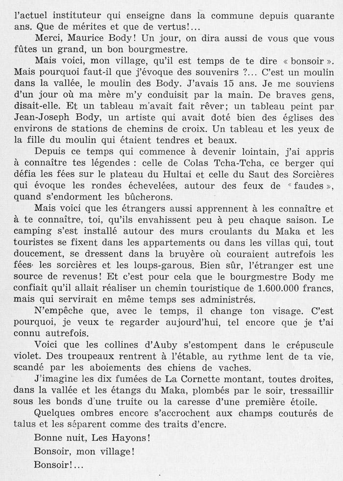 site to Bonsoir Les Hayons de Marcel LEROY page 57