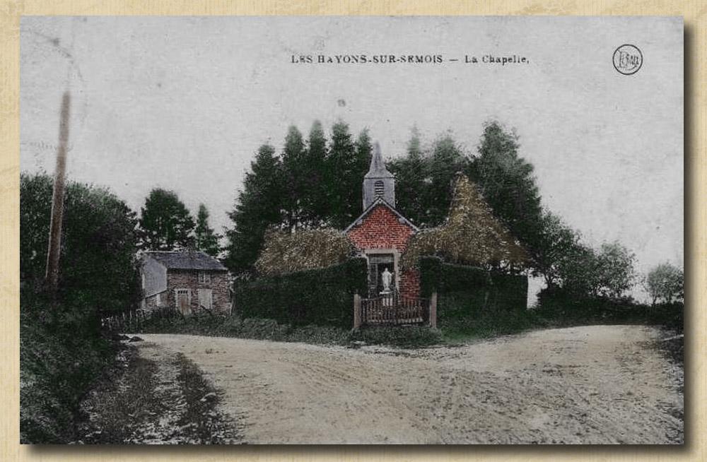 site to be les hayons chapelle panneau