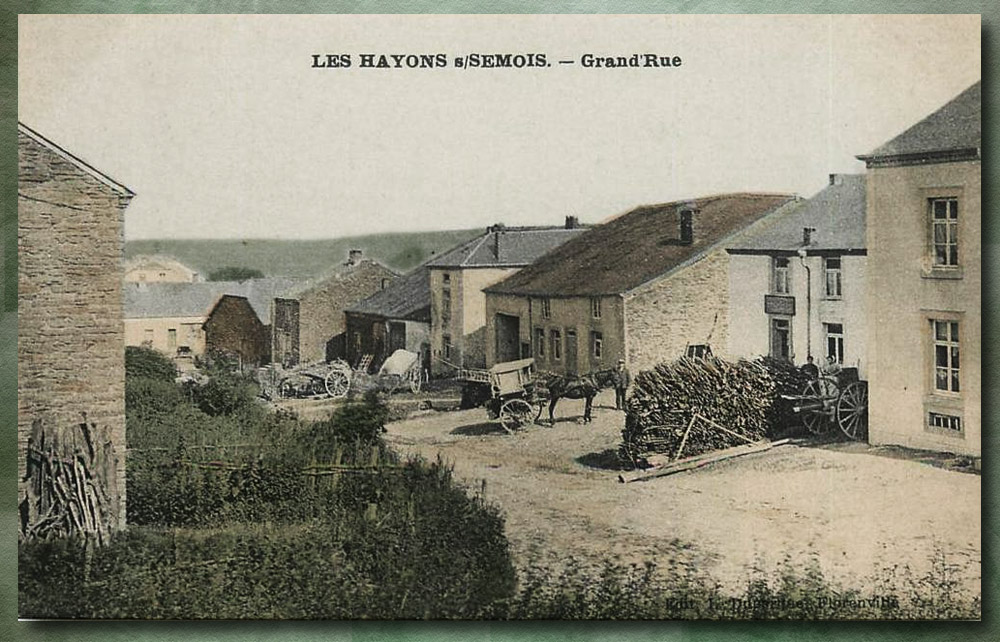 site to be les hayons grand rue color 1908