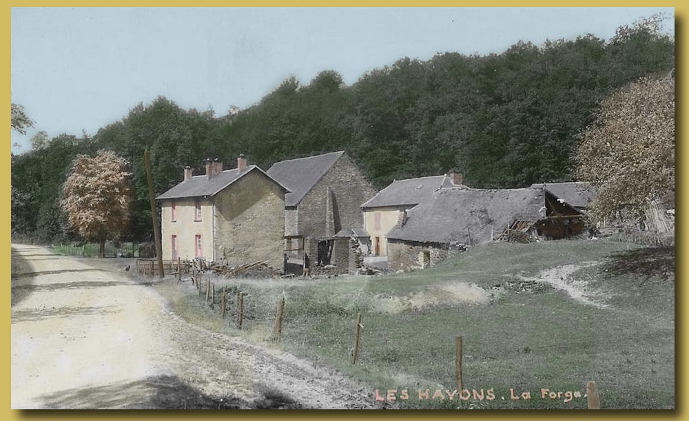 site to be les hayons  les forges color