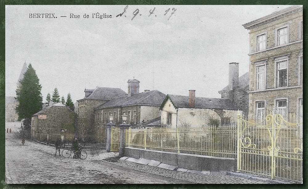 site to be bertrix 1917 école des soeurs