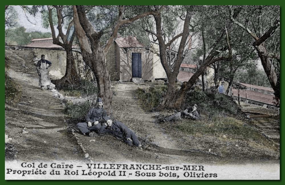 site to fr villefranche col de caire soldats belges et hopital  pour tuberculeux color