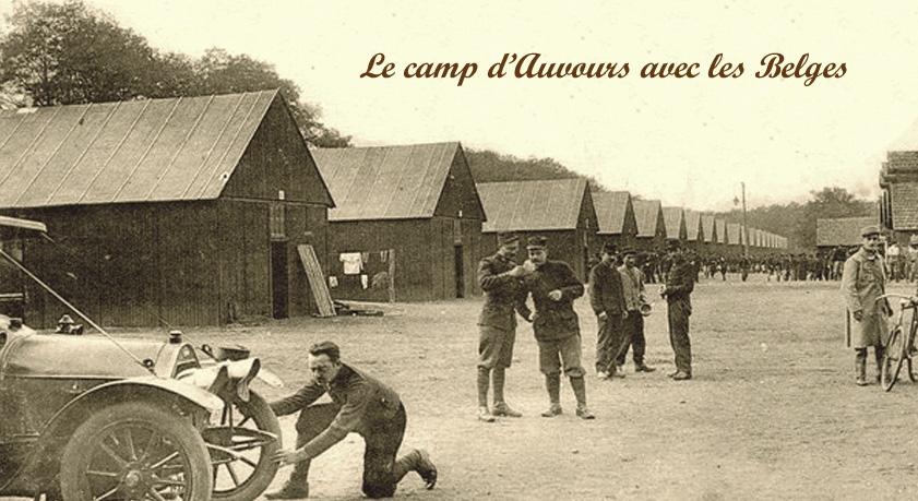 site to fr le camp d'auvours avec les belges