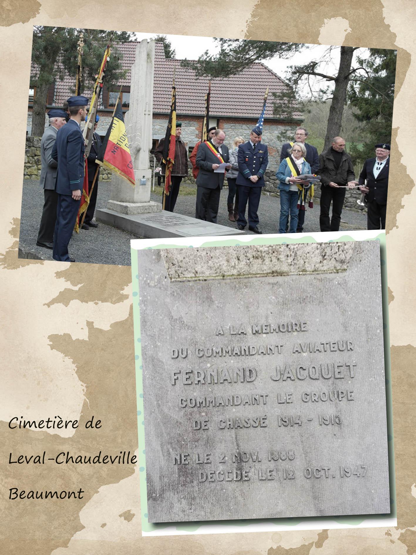 site to be cimetière leval chaudeville beaumont