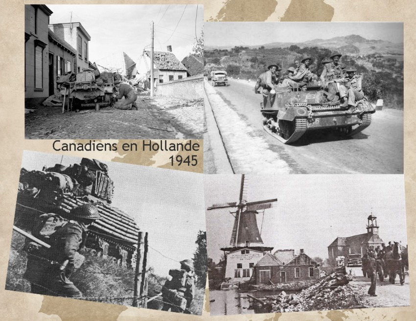 site to nl canadiens en hollande 1945