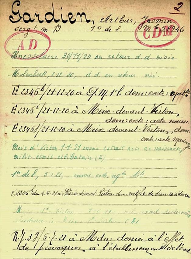 site to be fiche belg war registre page 03