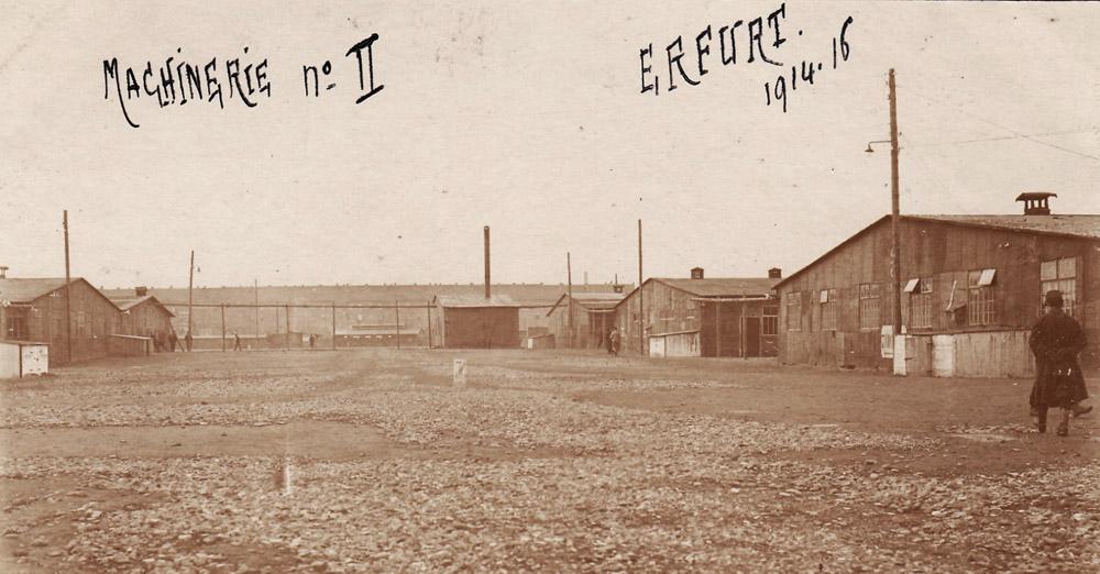 erfurt 1916 baraquements