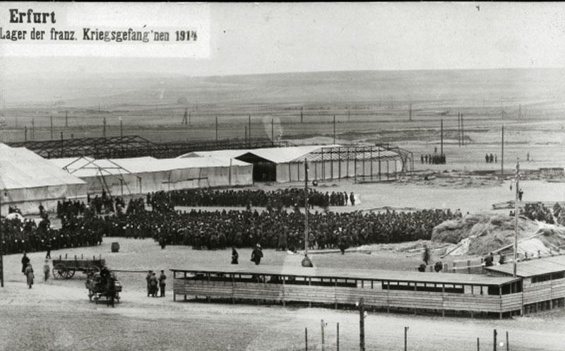 site to de erfurt construction camp et rassembl francais