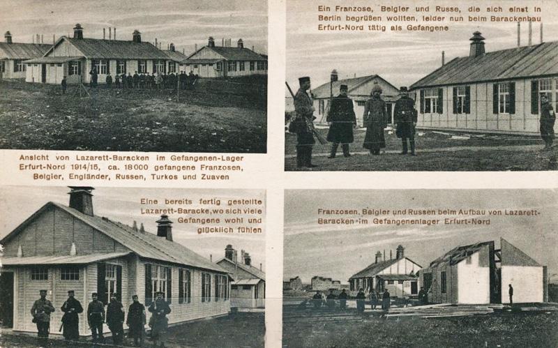 site to de lazarett barack erfurt 1915