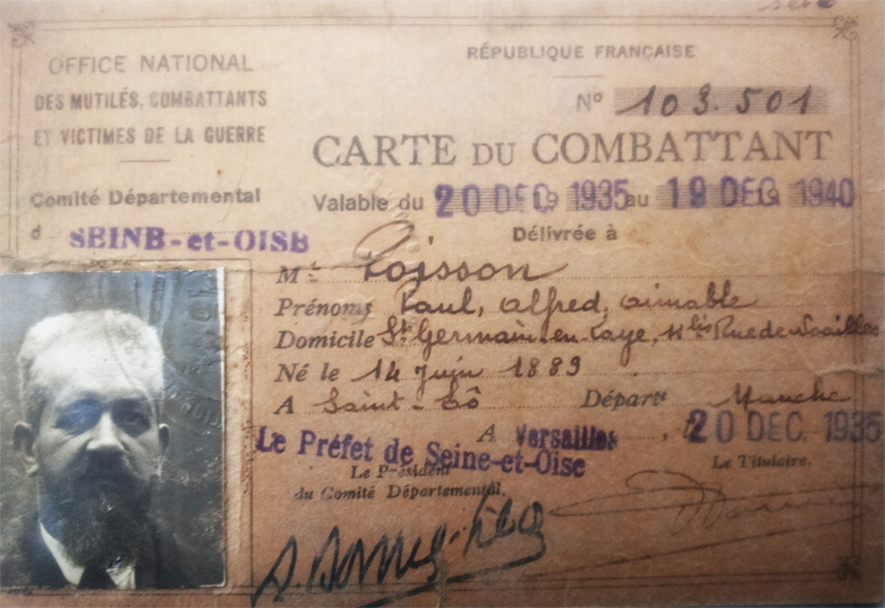site to fr carte de combattant paul poisson