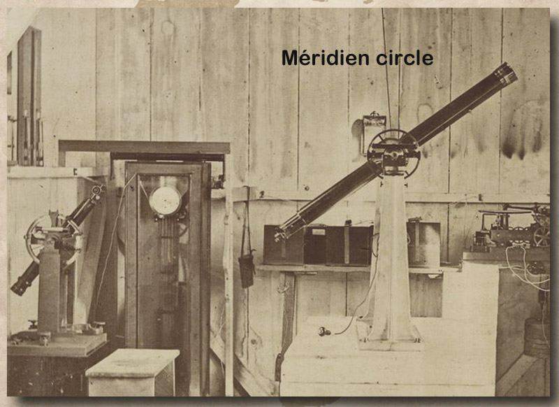 site to be meridian circle