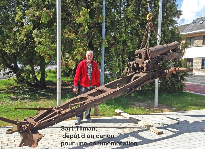 site to be sart tilman dépôt canon par bigmat