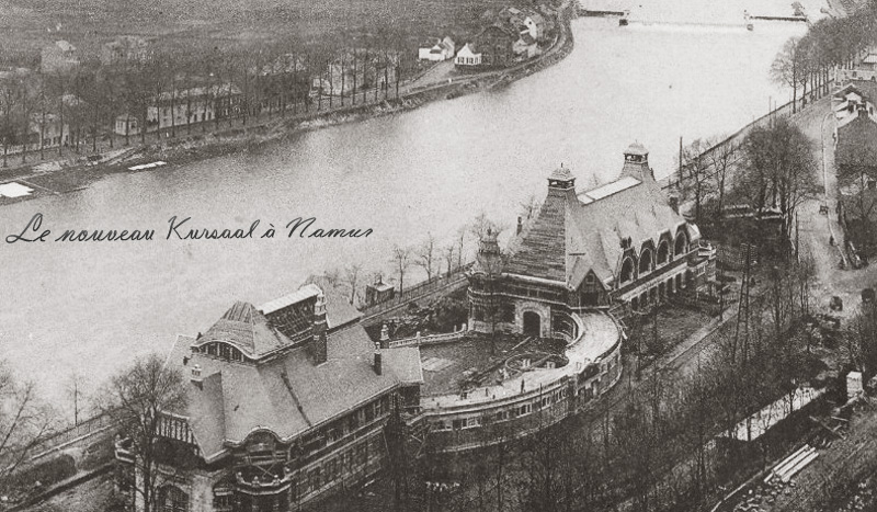 site to be namur kursaal 1914